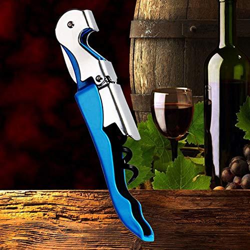 (Wine Opener - Colorful Parrot Metal Wine Opener Portable Hippocampal Knife Beer Bottle Opener Corkscrew For Cans Jars Bar Tools Color Random - At Random - Red Hqy Metrokane C Kalorik)