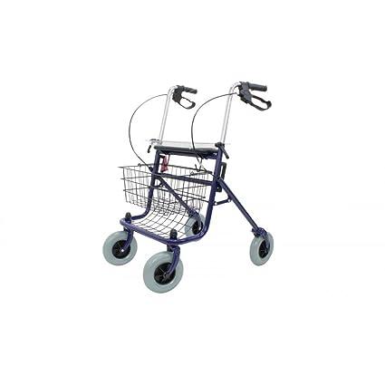 Andador plegable rollator Ortaid: Amazon.es: Salud y cuidado ...