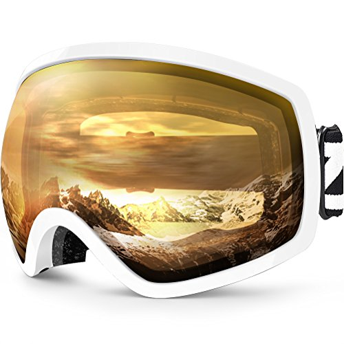 ZIONOR Lagopus Ski Snowboard Goggles UV Protection Anti-fog Snow