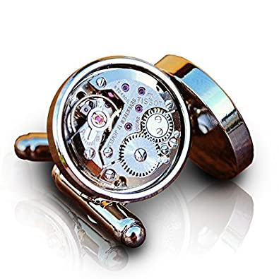 Reloj Tissot hombre gemelos Steampunk mecanismo de movimiento: Amazon.es: Joyería
