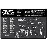TekMat Tapis de nettoyage pour pistolet Motif P226 Noir 27,9 x 43,1cm