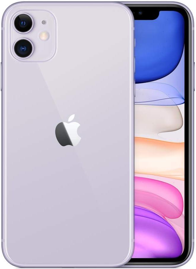 Apple iPhone 11, 128GB, Purple - for Verizon (Renewed)