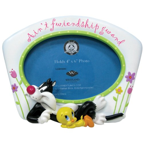 4 by 6-Inch Westland Giftware Home Decor 13956 Westland Giftware Sylvester and Tweety Frame