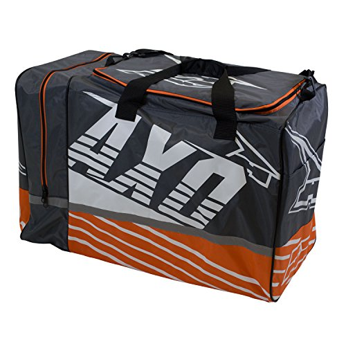 Weekender Gear Bag - AXO 29202-86-000 Weekender Gray/Orange Gear Bag
