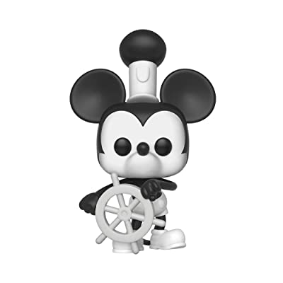Funko Pop Disney: Mickey's 90Th - Steamboat Willie Collectible Figure, Multicolor: Toys & Games