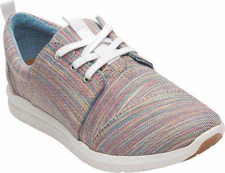 TOMS Women's Del Rey Sneaker Blue Aster Multi Space Dye 5 B US