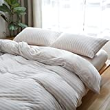 Japanese sleep naked India simple cotton cotton stripes four-piece sets of knitted cotton bed linen four-piece sets,Queen,11