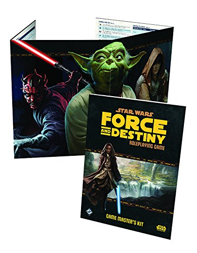 Fantasy Flight Games Star Wars: Force and Destiny RPG - Game Master's Kit - Star Wars Rpg Core