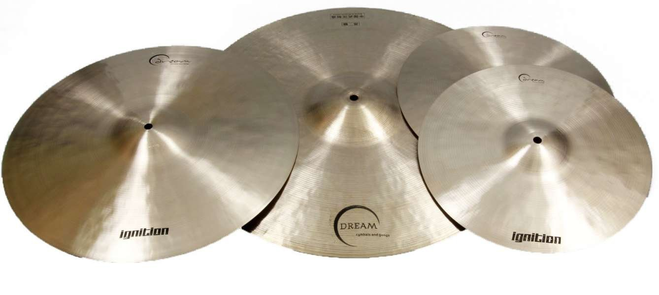 Dream Ignition Series 14/18/22 3 Piece Cymbal Pack by Dream