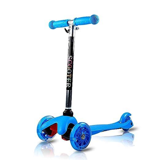 Patinetes para niños Scooter 3-6-12 Scooter de Tres Ruedas ...