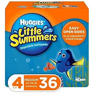 Huggies Little Swimmers Swim Diapers, Size 4 Medium, 36 Count