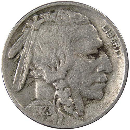 1923 S Buffalo Nickel VG-Very Good