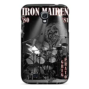 Samsung Galaxy S4 RRl16712qjiM Provide Private Custom Attractive Iron Maiden Band Skin Best Hard Cell-phone Cases -EricHowe