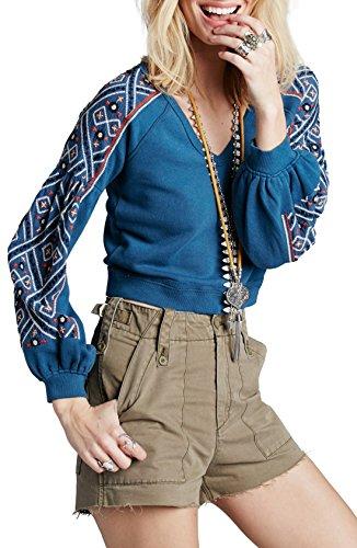 Embroidered Winter Sweatshirt - 3