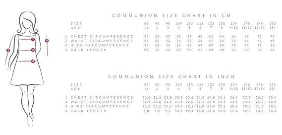 Lacey Bell Vestito Bambina Prima Comunione Damigella Raso Maiche Corte  Colletto CD-4  Amazon.it  Abbigliamento 2b3945729f5