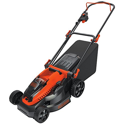 Lightweight BLACK+DECKER CM1640 16-Inch Cordless Outdoor Law
