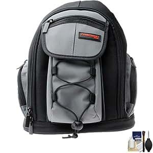 Precision Design PD-MBP ILC Digital Camera Mini Sling Backpack with Cleaning Kit for Panasonic Lumix DMC-G3, G10, GF2, GF3, GF5, GH2, GX1 Cameras