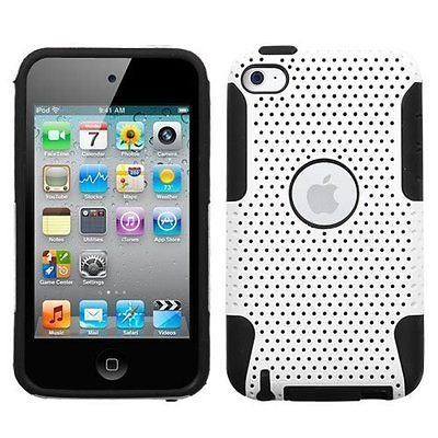 Protective Dual Hard Case and Soft Silicone Skin for Appl...