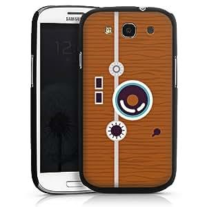 Carcasa Design Funda para Samsung Galaxy S3 i9300 / LTE i9305 HardCase black - 50ies Style Camera