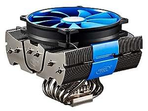 DeepCool FIEND SHARK - Ventilador de PC (0.17 A, Multi, 1.142 kg, 80.28 cfm, 157 x 156 x 131 mm, 12VDC)