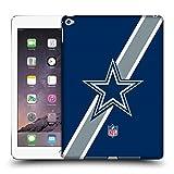Official NFL Stripes Dallas Cowboys Logo Hard Back Case for Apple iPad Air 2
