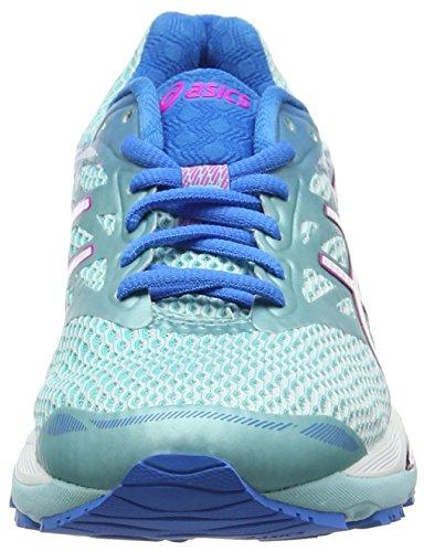 Pink Running Splash Asics Femme Glow White Cumulus 18 Multicolore Aqua Bleu Gel wvqUAx7vO