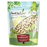 Food To Live Raw Cashew Nuts (Whole, Size W-240, Unsalted, Kosher, Bulk) (1 Pound)
