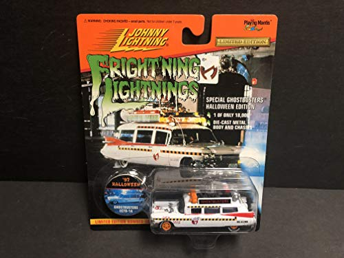 Ghostbusters ECTO-1A Limited Edition 1997 Halloween Johnny Lightning diecast]()
