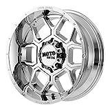 MOTO METAL SPADE CHROME SPADE 22x12 6x139.70 CHROME (-44 mm)