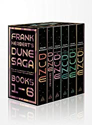 Frank Herbert's Dune Saga 6-Book Boxed Set: Dune, Dune Messiah, Children of Dune, God Emperor of Dune, Her