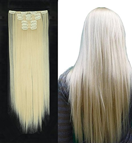 clip-in-hair-extensions-synthetic-full-head-hairpieces-japanese-kanekalon-fiber-thick-long-straight-