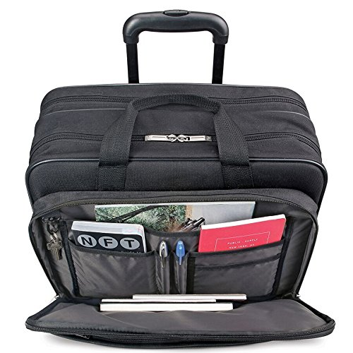 Solo Empire 17.3 Inch Rolling Laptop Case, Black by SOLO (Image #3)