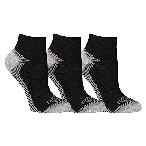 - Carhartt Women's 3 Pack Force Performance Low Cut Socks, Black, Shoe: 5.5-11.5