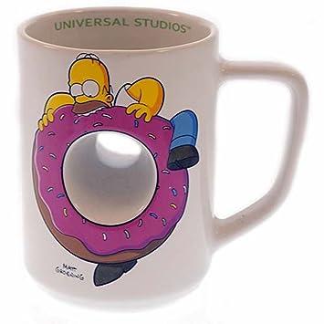 De RideHomer Exclusif The Donut Simpsons Universal Studios Mug OkXZiwPuT