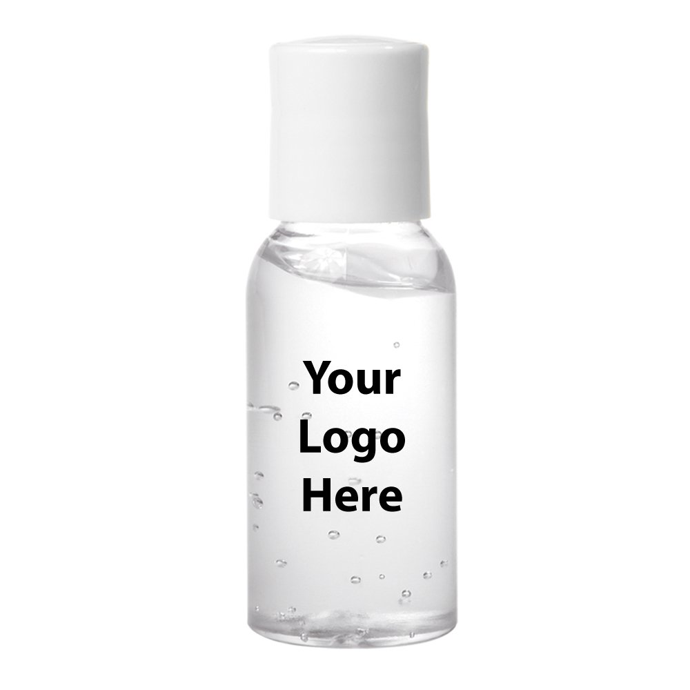 1 Oz. Hand Sanitizer - 100 Quantity - $0.99 Each - PROMOTIONAL PRODUCT / BULK / BRANDED with YOUR LOGO / CUSTOMIZED