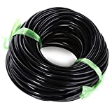 JHD 20M 3/5MM Micro Irrigation Pipe Water Hose Drip Watering Home Garden Greenhouse