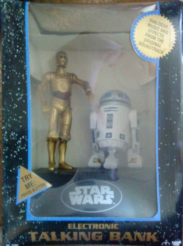 - Star Wars Electronic Talking Bank, C3PO and R2D2