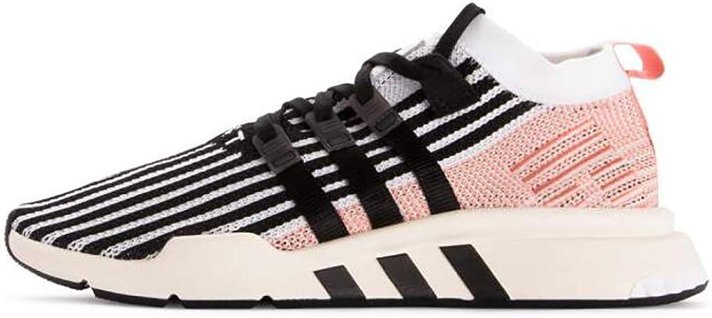 adidas Men's EQT Support Mid ADV Cloud White/Core Black/Trace Pink AQ1048