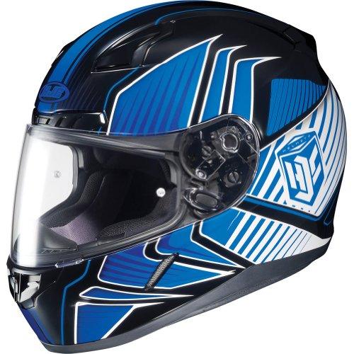 HJC Redline Men's CL-17 Street Racing Motorcycle Helmet - MC-2 / Medium (Redline 2 Cycle compare prices)