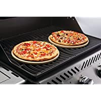 """Napoleon Grills 70000 Commercial 10"""" Personal Sized Pizza/Baking Stone Set"""