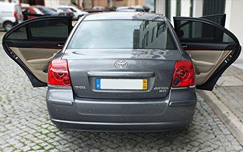 Laitovo RHS-248 Set passgenauer Sonnenschutz f/ür Ihr Auto