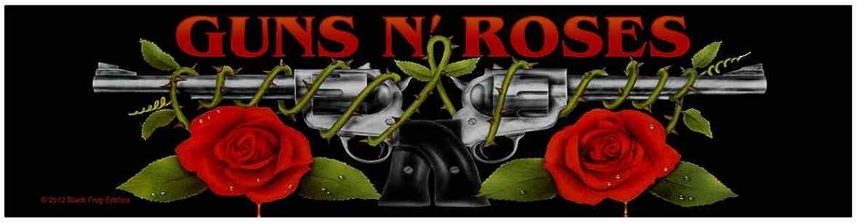 Guns N Roses Logo Superstrip Aufn/äher