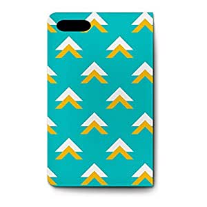 Leather Folio Phone Case For Apple iPhone 5 Leather Folio - Geometric Abstract Triangles Teal Leather Wallet wangjiang maoyi