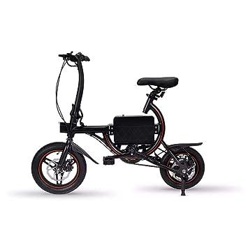 Bicicleta Eléctrica Plegable, Aplicación Inteligente, Bicicleta Eléctrica del Motor Trasero 36V 250W, Frenos