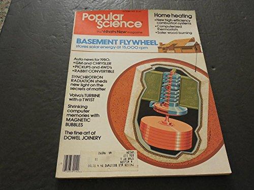 Popular Science Oct 1979 , Basement Flywheel, Dowel Joinery