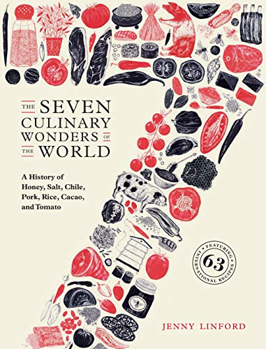 (The Seven Culinary Wonders of the World: A History of Honey, Salt, Chile, Pork, Rice, Cacao, and Tomato)