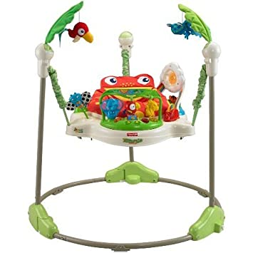 d4084db04 Amazon.com   Fisher-Price Rainforest Jumperoo   Baby