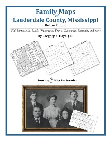 Download Family Maps of Lauderdale County, Mississippi pdf