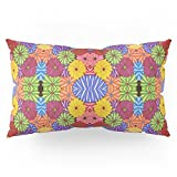 Society6 Flower Child Pillow Sham King (20'' x 36'') Set of 2