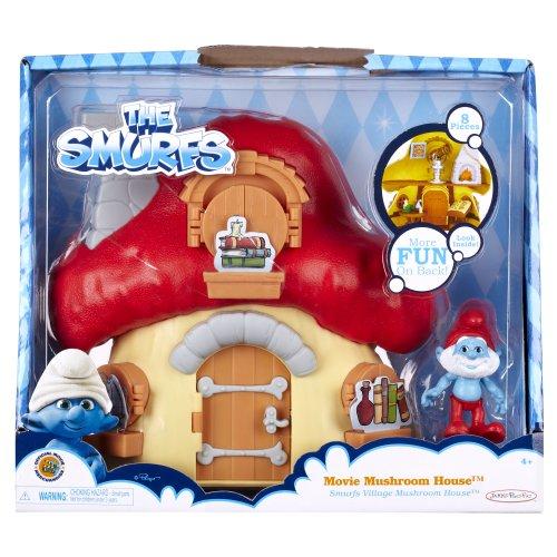 Mushroom Smurf (Smurfs Mushroom House with Papa Smurf)